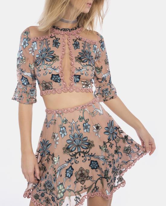 89705df849 Saffron Mini Skirt